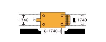 超高圧ポンプ車 Putzmeister BSA1409D