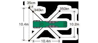 スーパーロングブーム車 Putzmeister BSF52.16H