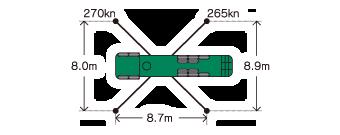 スーパーロングブーム車 Putzmeister BSF46.16H